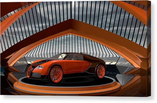 Bugatti Veyron Canvas Print