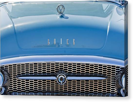 Grills Canvas Print - Buick Grille by Jill Reger