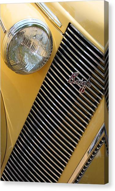 Grills Canvas Print - Buick8 by Rebecca Cozart