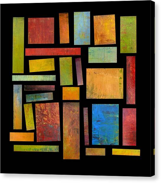 Building Blocks Three Canvas Print