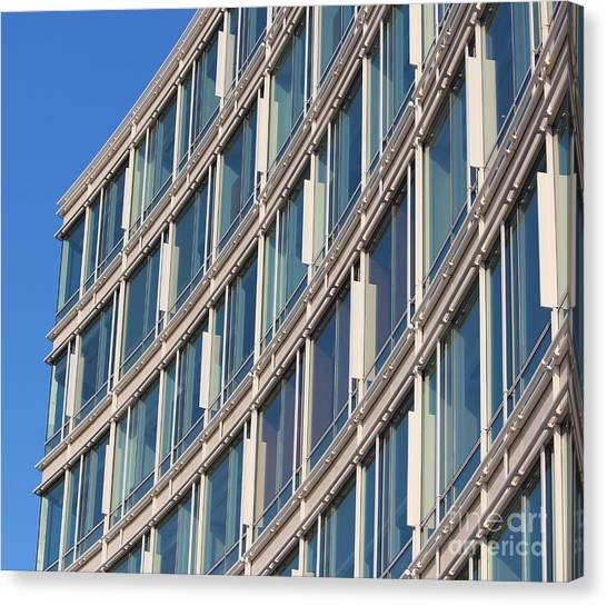 Building With Windows Canvas Print