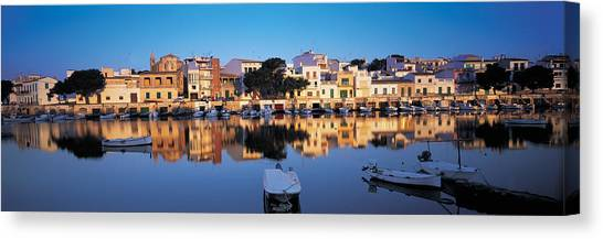 Mallorca Canvas Print - Buildings At The Waterfront, Porto by Panoramic Images