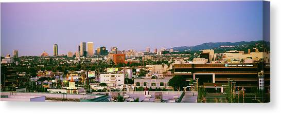 Mountain West Canvas Print - Buildings In A City, Century City, City by Panoramic Images
