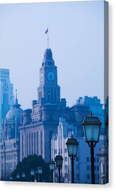 Bund Canvas Print - Buildings In A City, The Bund by Panoramic Images