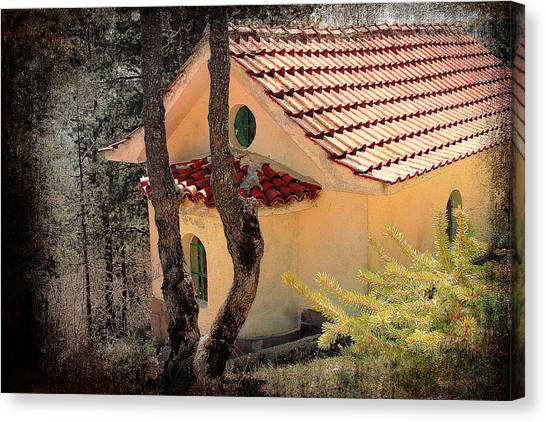 Built In A Forest Canvas Print