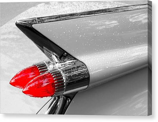 Bullet Tail Lights Canvas Print
