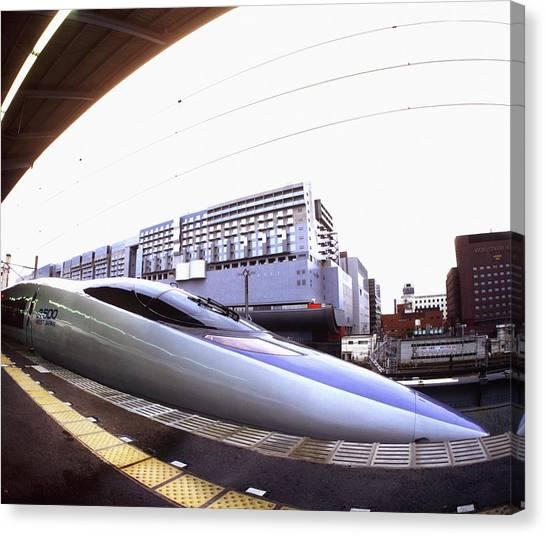Bullet Trains Canvas Print - Bullet Train by Mehau Kulyk/science Photo Library