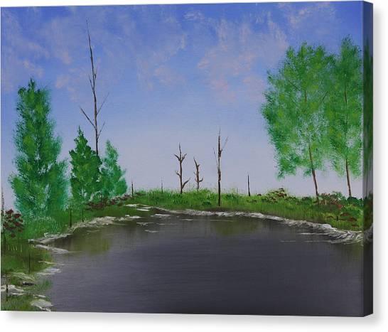 Bullfrog Reservoir Canvas Print