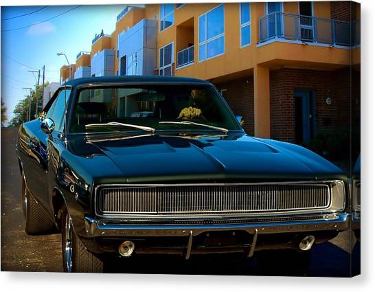 Bullit Replica Charger Canvas Print