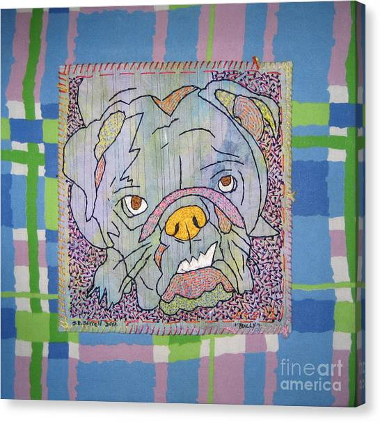 Bully Canvas Print by Susan Sorrell