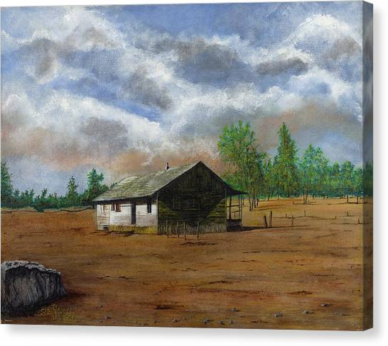 Bunk House Cheyenne Wy Canvas Print