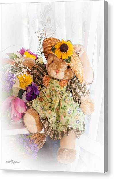 Bunny Expressions Canvas Print