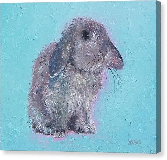 Rabbit Canvas Print - Bunny Rabbit by Jan Matson