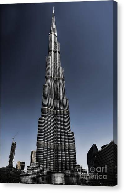 Burj Khalifa 3 Canvas Print by Graham Taylor