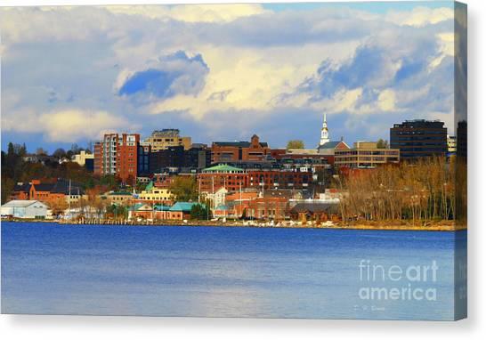 Burlington Vermont Lakefront Canvas Print