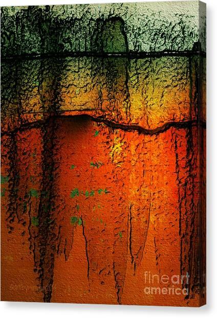 Burnt Caramel Canvas Print