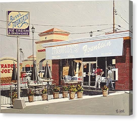 Burr's On Folsom Boulevard Canvas Print by Paul Guyer