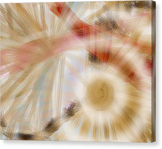 Bursting Brushes Canvas Print