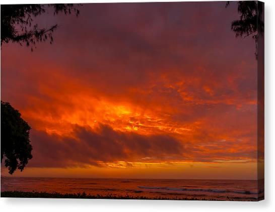 Bursting Sky Canvas Print