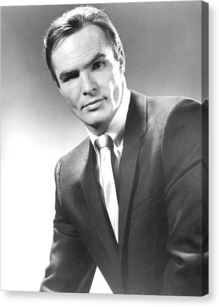 Burt Reynolds Canvas Print - Burt Reynolds In Dan August  by Silver Screen