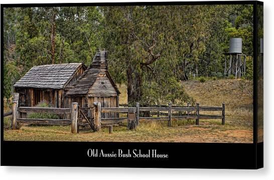 Bush School House Canvas Print