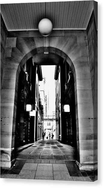 Business Alley - Melbourne - Australia Canvas Print