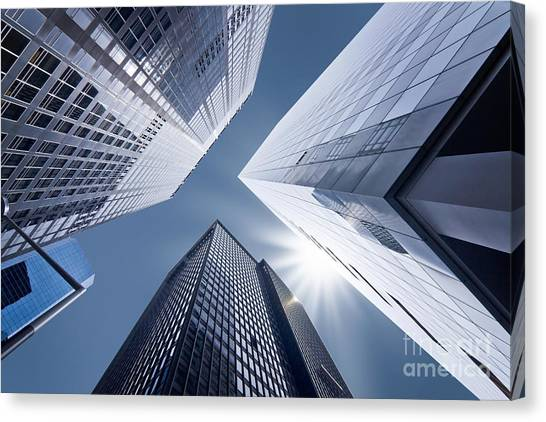 Vertigo Canvas Print - Business Vertigo by Delphimages Photo Creations