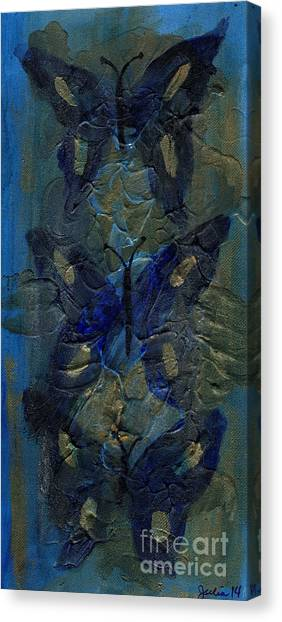 Butterflies Of Past Canvas Print