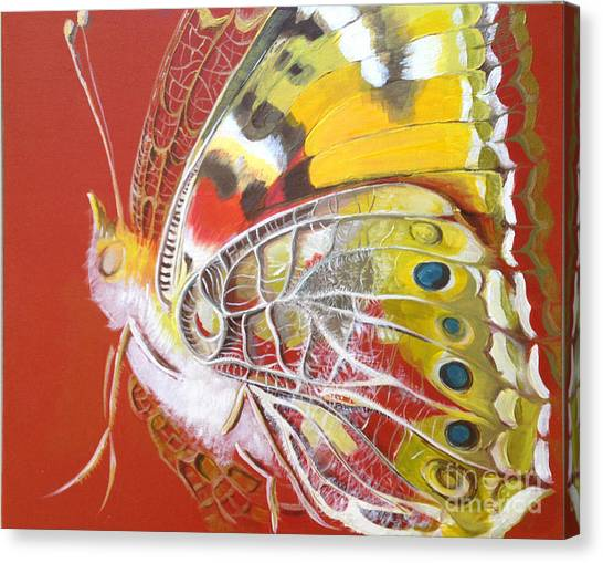 Butterfly Basic Canvas Print