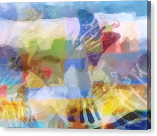 Imagination Canvas Print - Butterfly Imagination by Lutz Baar