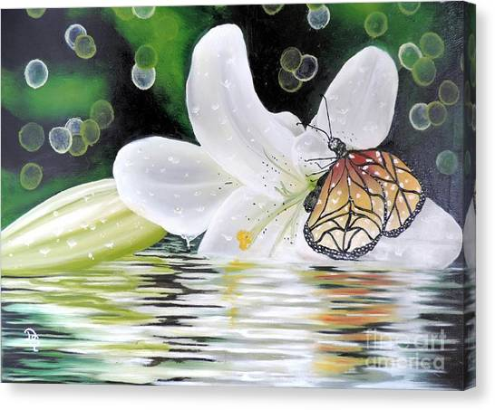 Butterfly Series Seven Canvas Print