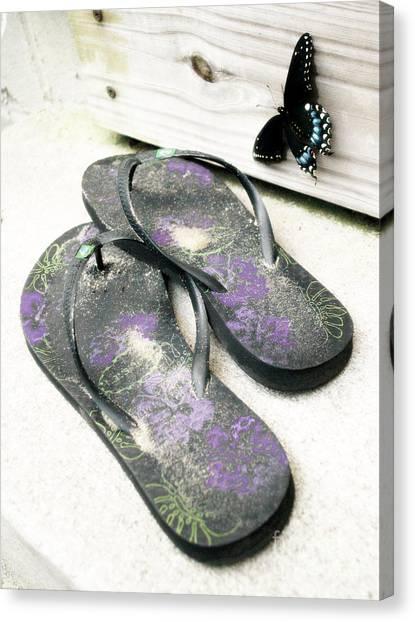 Butterfly Summer Canvas Print