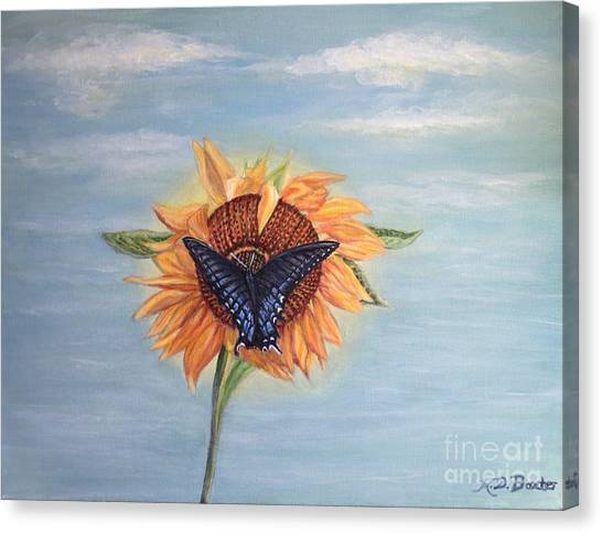 Butterfly Sunday Full Length Version Canvas Print