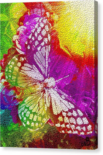 Butterfly World 2 Canvas Print