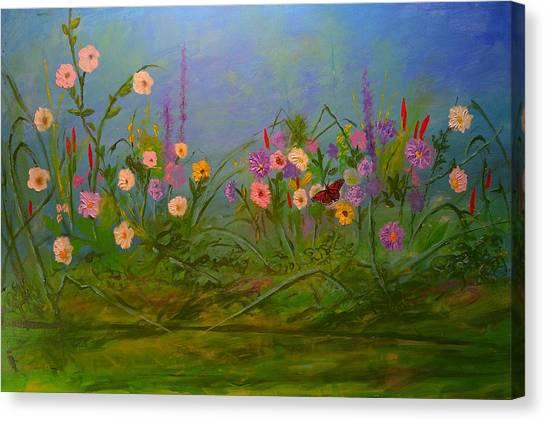 Butterflys Dream Land  Canvas Print