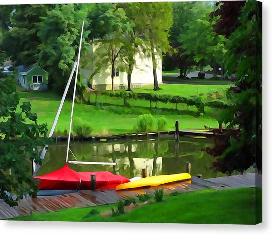 Buttoned Up Canvas Print