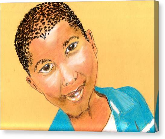 Bwana Canvas Print