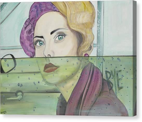 Bye Canvas Print