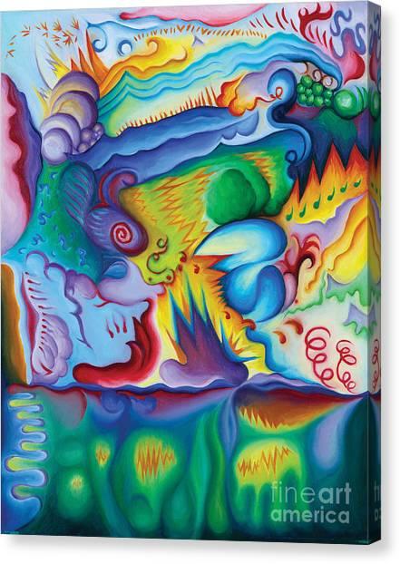 Byron Bird Orchestration Canvas Print