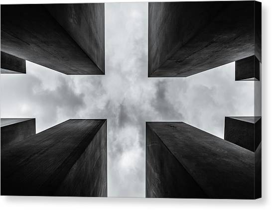 Judaism Canvas Print - C R O S S by Herv? Loire