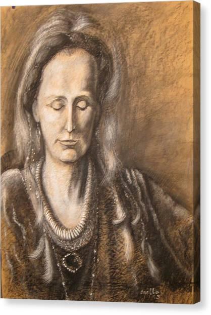C10. Contemplation Canvas Print