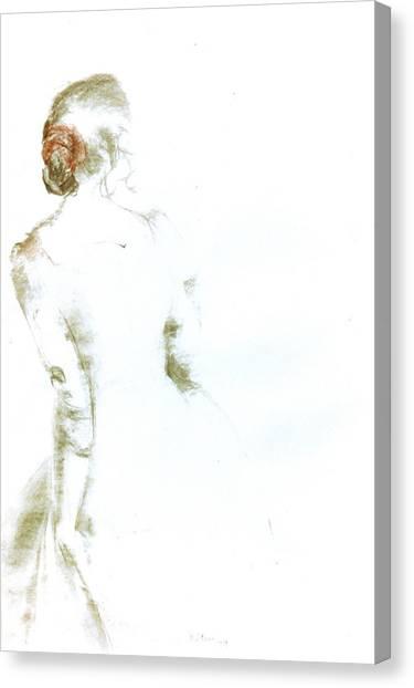 C11. Ballet Dancer Canvas Print