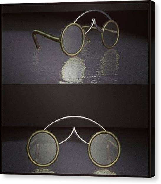 Steampunk Canvas Print - Spectacles  by Andrew Morican