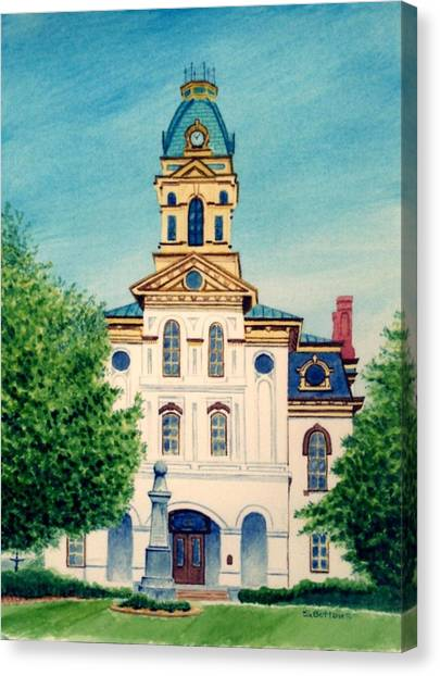 Cabarrus County Courthouse Canvas Print