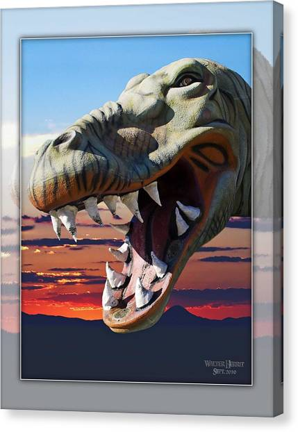 Cabazon Dinosaur Canvas Print
