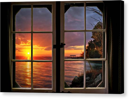Canvas Print featuring the photograph Cabin 11 On The James River by Williams-Cairns Photography LLC