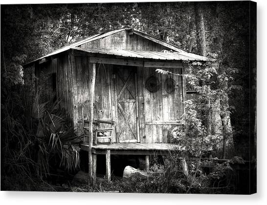 Cabins Of Southern Louisiana Canvas Print