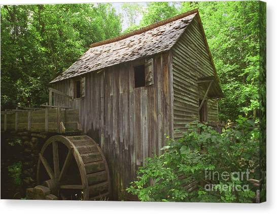 Cable Mill In Smoky Mtns Canvas Print