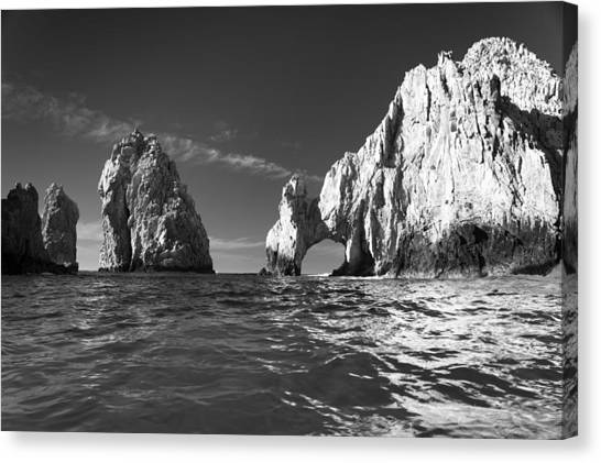 Cabo In Black And White Canvas Print
