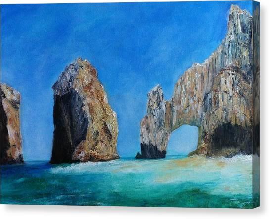 Cabo San Lucas Canvas Print by Anais DelaVega